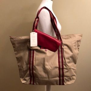 """Tote Bag in a Pouch"" NEW-Ann Taylor"